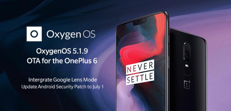 OxygenOS 5.1.9 OTA update