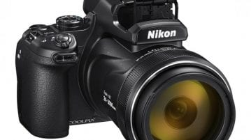 Nikon COOLPIX P1000 with 125× optical zoom lens announced