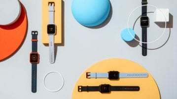 Amazfit BIP and Stratos smartwatches