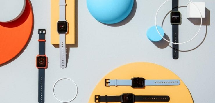 Amazfit BIP and Stratos smartwatches