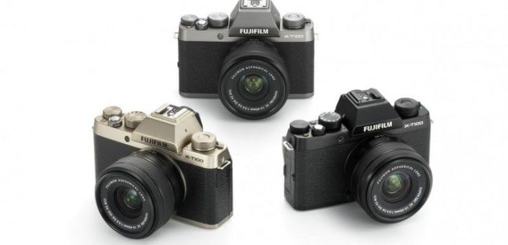 Fujifilm X-T100 mirrorless camera 24.2 megapixel sensor launched