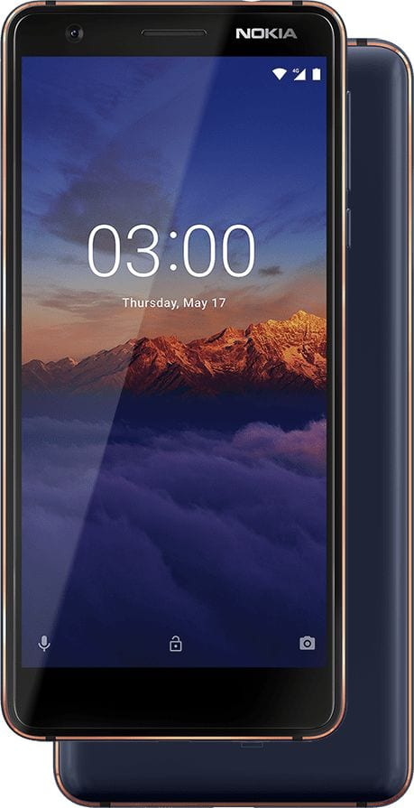 Nokia 3.1 Android One smartphone
