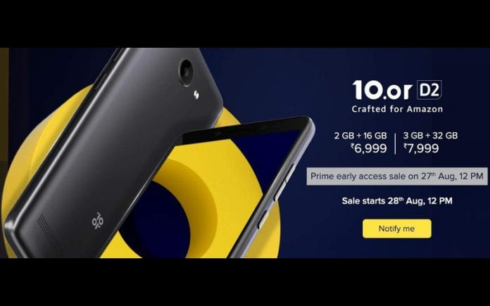 10 or launches D2 with 2 GB RAM+16 GB ROM and 3 GB RAM+32 GB
