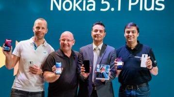 Nokia 6.1 and Nokia 5.1