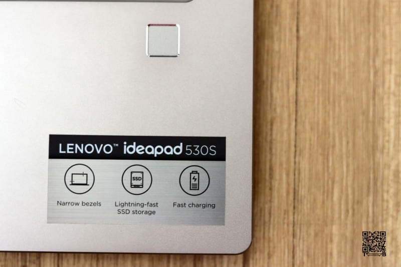 Lenovo Ideapad 530s Fingerprint Scanner