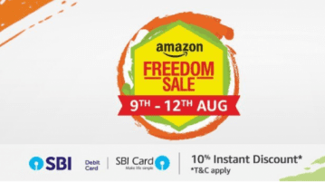Amazon India schedules 'Amazon Freedom Sale' from August 9 to 12, 2018