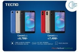 Tecno Camon iACE and Camon iSky 2