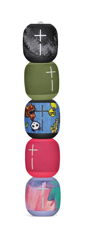 Ultimate Ears WONDERBOOM freestyle collection portable Bluetooth speaker