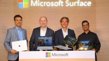 Microsoft Surface Laptop and Surface Book 2