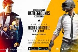 PUBG MOBILE teams up with Mission: Impossible – Fallout for new game content