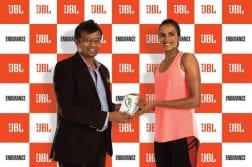JBL launches a new range of earphones for sports enthusiasts, Signs Olympics Medalist P.V. Sindhu as Brand Ambassador