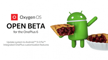 OnePlus 6 Open Beta
