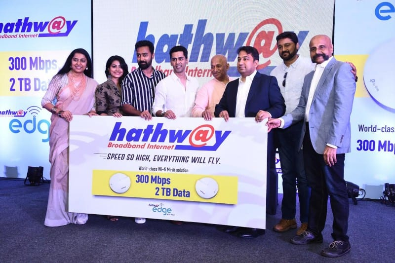Hathway announces 300MBPS broadband with 2TB monthly limit, free wifi mesh system