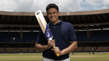 Anil Kumble's startup Spektacom announces Power Bat that provides real-time stats and insights