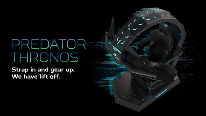 Terrific Acer Announces Predator Thronos Gaming Chair In India The Short Links Chair Design For Home Short Linksinfo