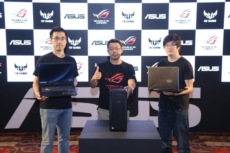 ASUS Unveils a Refreshed range of TUF Series with FX505 and FX705 along with TUF Desktop FX10CP