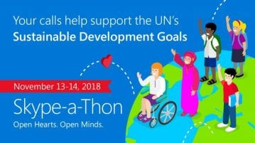 Fourth edition of the worldwide Skype-a-Thon being held in India