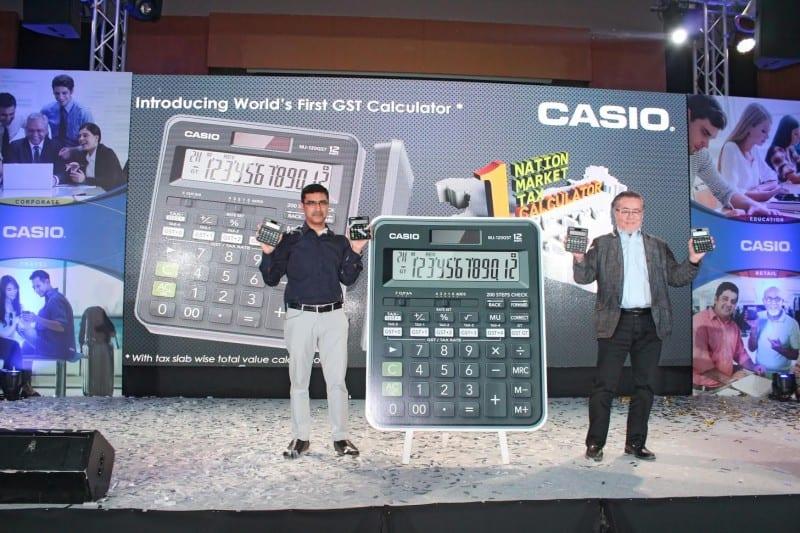 Casio GST calculator