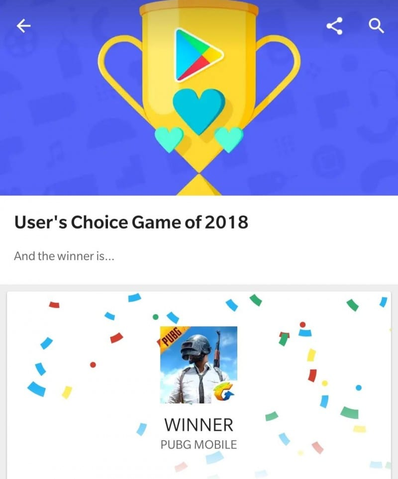 "Google Play ""Best of 2018"""
