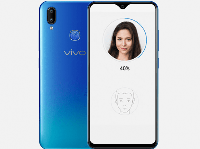Vivo Y91 with 6 22-inch Halo FullView display, dual rear cameras