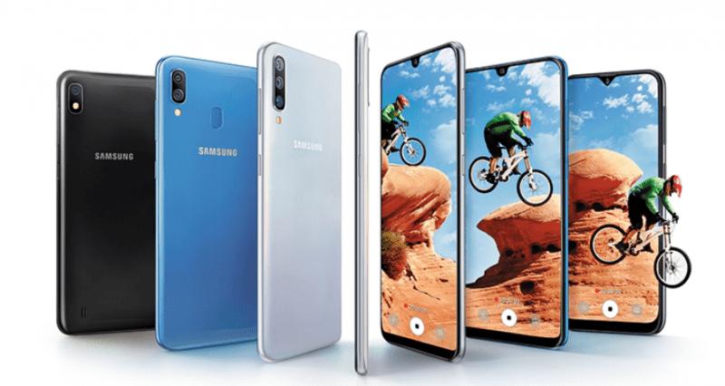 Samsung Galaxy A10, A30, and A50