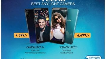 Tecno Camon iACE2 and iACE2X
