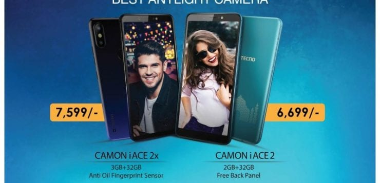 Tecno Camon iACE2 and iACE2X