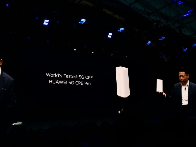 MWC19: Huawei announces 5G CPE Pro with download speed up to 4 6Gbps