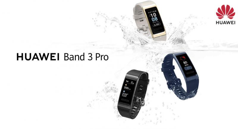 Huawei Band 3 Pro and Huawei Band 3e