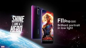 OPPO F11 Pro Captain Marvel Edition