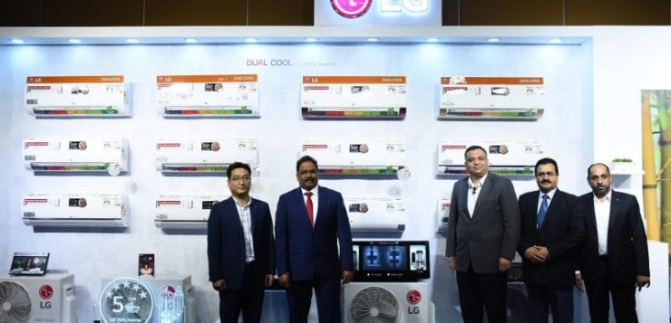 LG launches new range of Dual Cool Inverter Air Conditioners, starts at 31,990