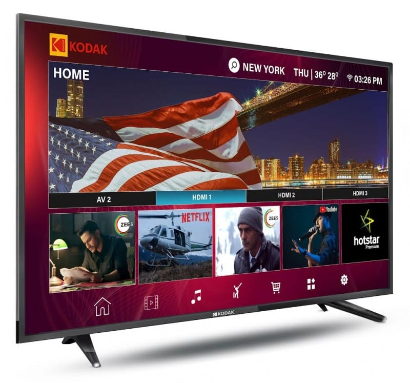 Kodak XPRO series 32 and 40-inch Smart LED TVs