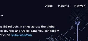 The interactive Ookla 5G Map tracks 5G rollouts in cities across the globe.