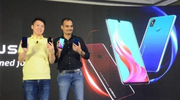 Mr. Fisher Yuan, CEO Coolpad India(L) and Pankaj Updahyay, Online Business Head, Coolpad India(R)