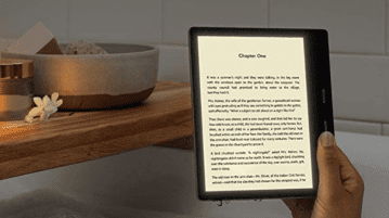 New Kindle Oasis