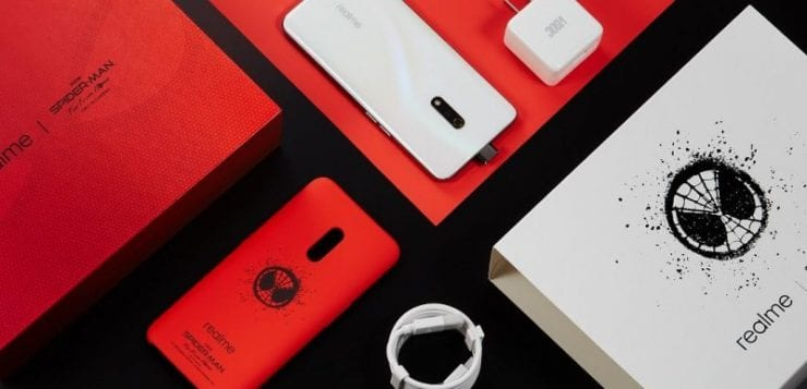 Realme X Spider-Man edition smartphone