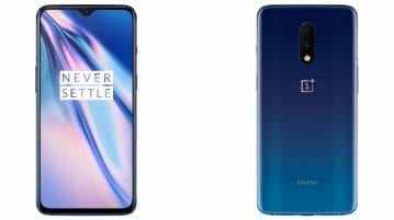 OnePlus 7 Mirror Blue
