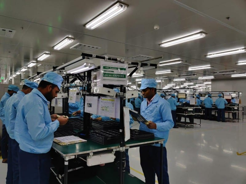 Oppo manufacturing facility