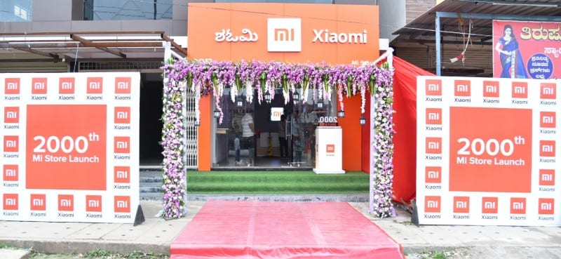 Xiaomi India opens its 2000th Mi Store - The Unbiased Blog
