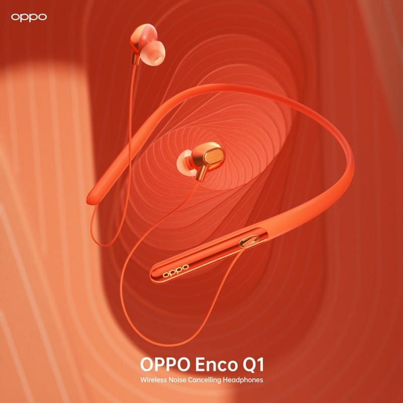 OPPO Enco Q1 wireless noise cancellation earphones