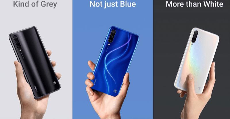 Xiaomi Mi A3 Colors
