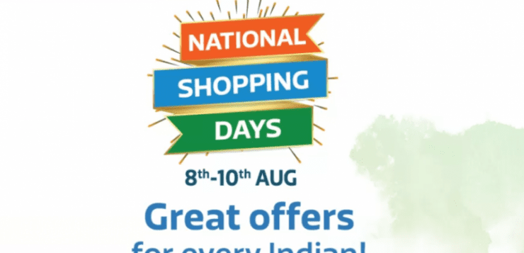 Flipkart National Shopping Days