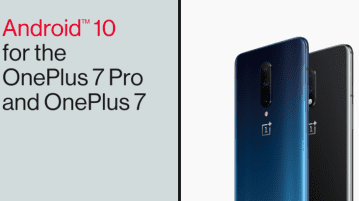 OnePlus 7/7 Pro Android 10