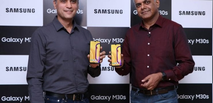 Samsung Galaxy M30s and M10s