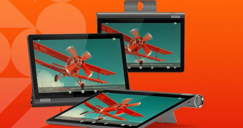 Lenovo Smart Tab M8, Smart Display 7, and Yoga Smart Tab