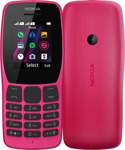 Nokia 800 Tough, Nokia 2720 Flip 4G, Nokia 110