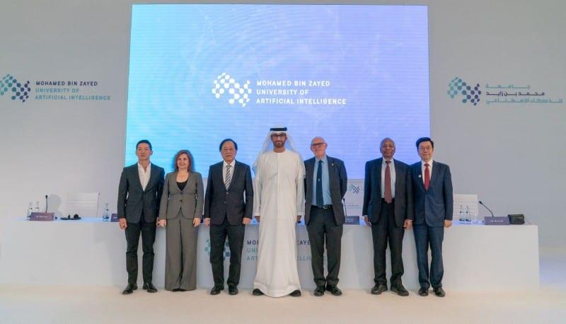 MBZUAI Board of Trustees launching the world's first graduate level AI university