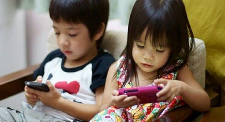 smartphone addiction children