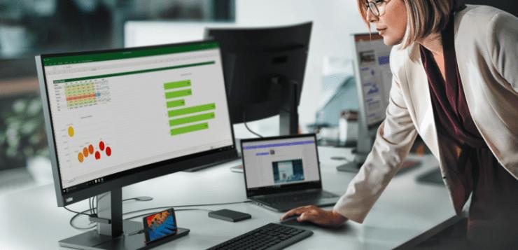 Lenovo CES 2020 ThinkVision