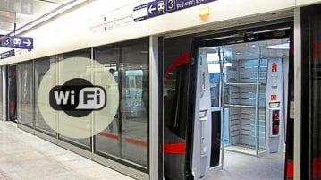 Delhi Metro Airport Express Line WiFi